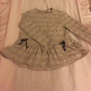 GUC Zara peplum bottom shirt size 11/12