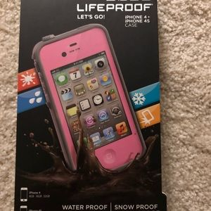 Accessories - iPhone 4/4S lifeproof case