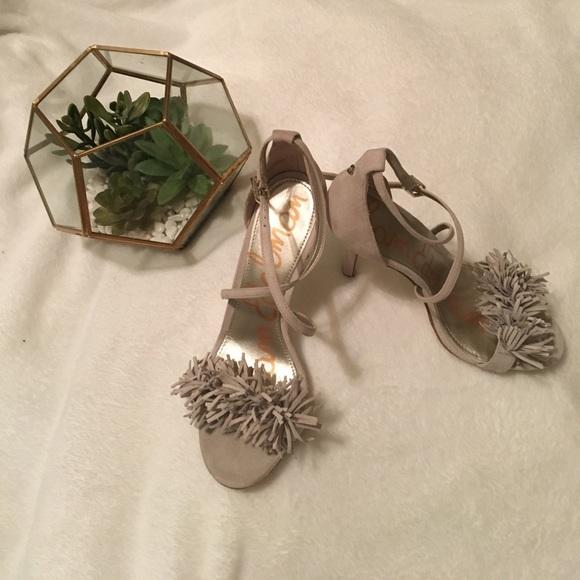 3e5e3cc3d Sam Edelman Shoes - Sam Edelman Aisha Dress Heels - Greige Color