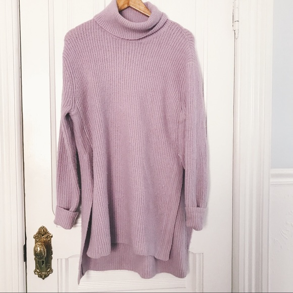ee21ccafeaab ASOS Sweaters - cozy long lavender sweater dress