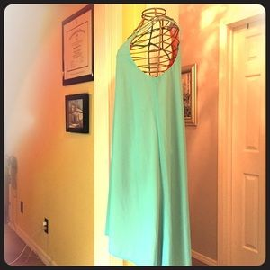 GB teal reversible cocktail dress