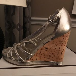 Authentic Coach silver and cork beauties!!