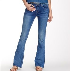 Vigoss Jagger Flare Jeans in Light Medium Wash