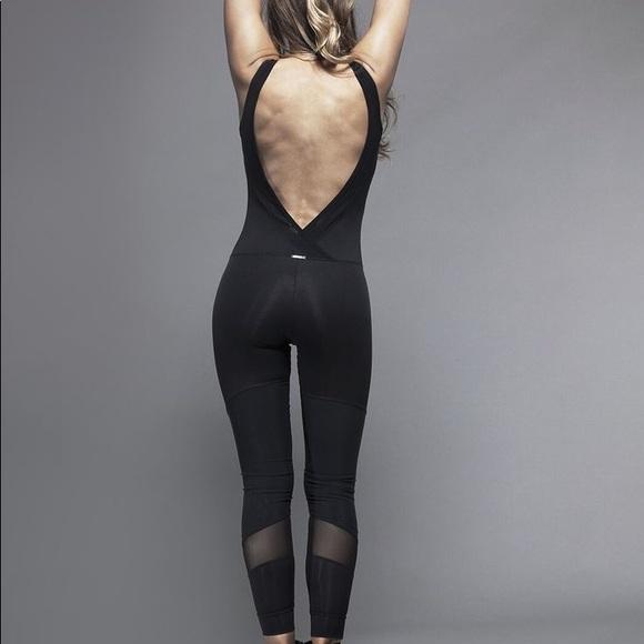 94d9f9e3ccd8 koral activewear Pants - Koral Vector Jumpsuit - Black Black Mesh