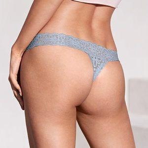 a2b98a092a9 Victoria's Secret Intimates & Sleepwear - New Victoria's Secret LACIE Daisy  Lace Thong Panty