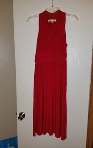 Evan-Picone Red Dress
