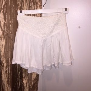 Dresses & Skirts - White mini skirt