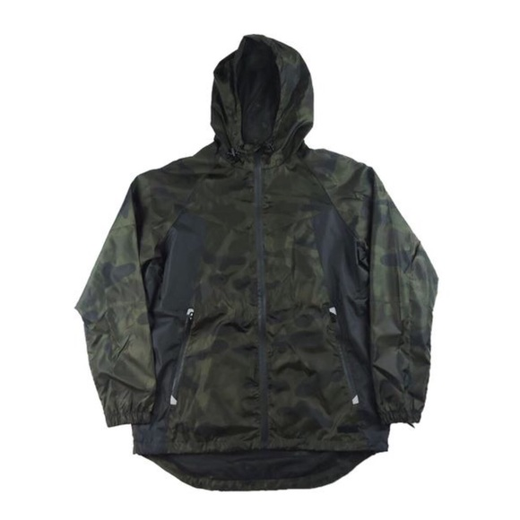 Other - Full Zip Windbreaker - Camo