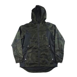 Full Zip Windbreaker - Camo