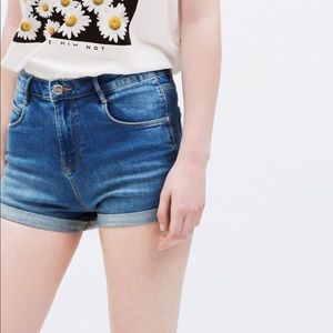 Trafaluc Denim Shorts