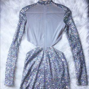 Nasty Gal Dresses - Metallic Midi Party Dress