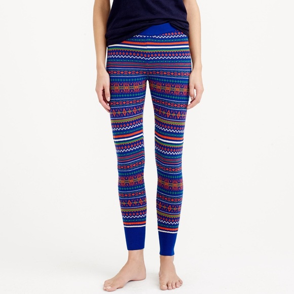 J. Crew - ❌Sold❌ J Crew fair isle pajama pants from ! laura's ...