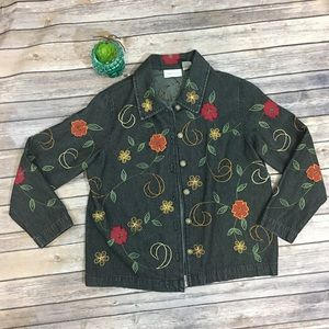 Studio Works Embroidered vintage style jacket -PM