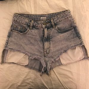 URBAN OUTFITTERS high rise Lou shorts