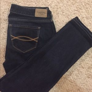 Abercrombie and Fitch Straight Jeans