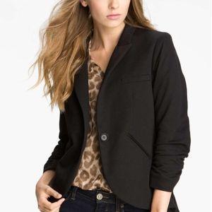 Gibson Cotton One Button Equestrian Blazer Jacket