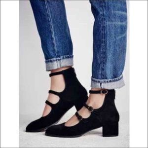 Free People Block Heels 👠
