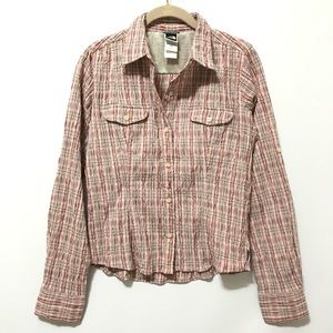 The North Face Shirt S Country Western Button Down