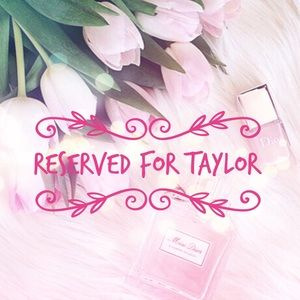 Other - Reserved for @11jtaylor