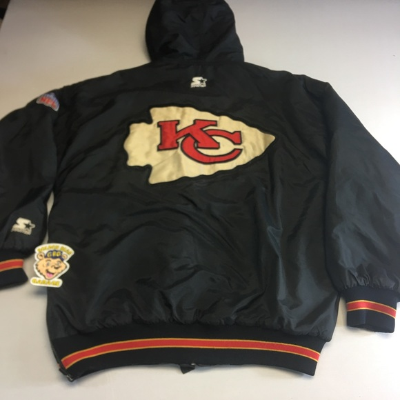 40bf9cb4 Vintage Kansas City Chiefs Starter Parka Jacket