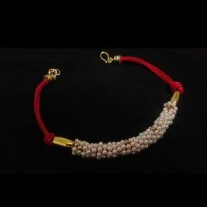 Jewelry - Chocker Pearl Vintage Necklace