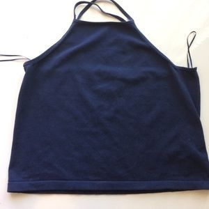 Ralph Lauren Navy Blue Top Size 2X