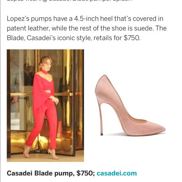 c1c68692e Casadei Shoes | Blade Pump Size 375 | Poshmark