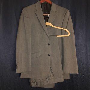 Kenneth Cole Reaction Dark Grey Suit Jacket+Pants