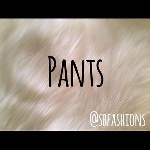 Pants - Pants/Harem/Jogger/Stretch/Yoga/Jeans/Jeggings