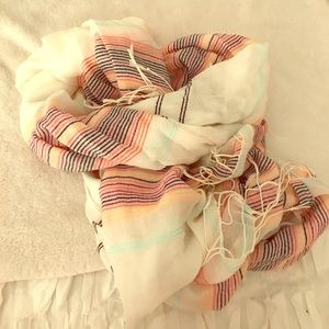 The Limited Striped Scarf