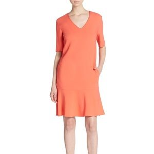 NWT Stella McCartney coral shift dress - size 46