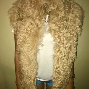 Zara Women's Fur Vest
