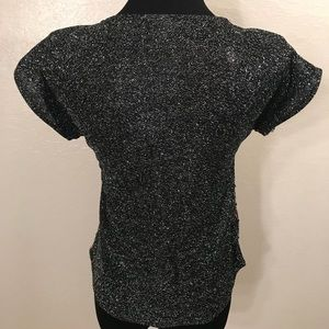 Vintage Tops - Cute vintage Sequin top blouse