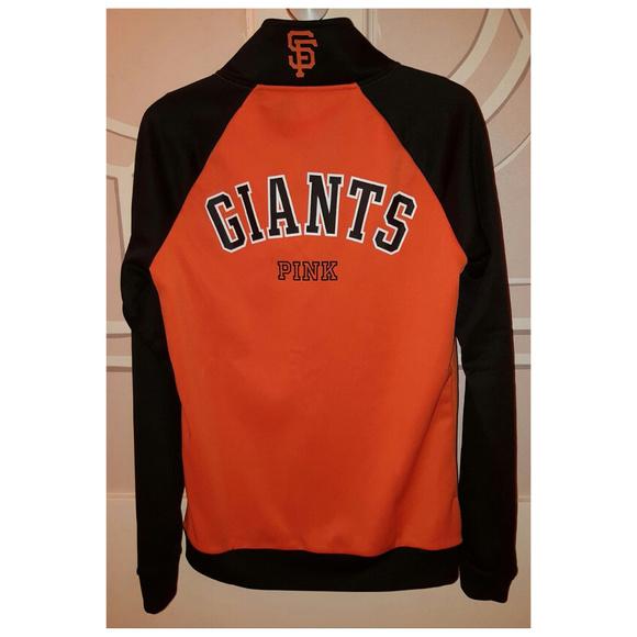 4411a1e1bd4 Victoria s Secret SF GIANTS Jacket SAN FRANCISCO