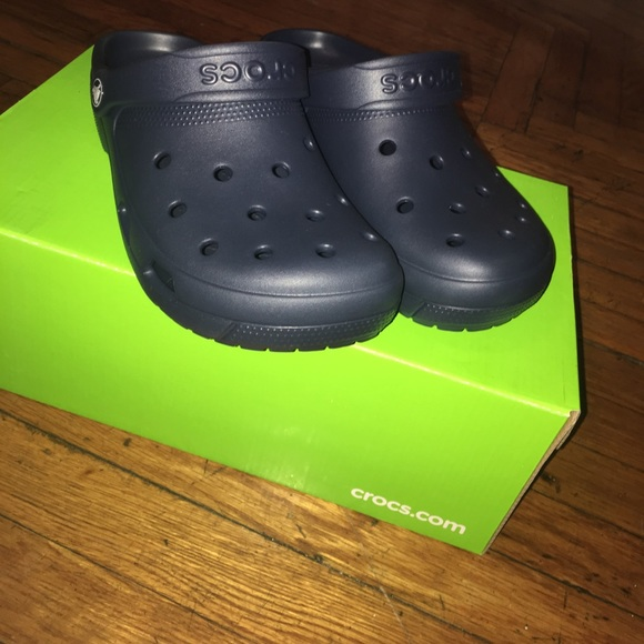 CROCS Shoes - BRAND NEW Navy Blue crocs