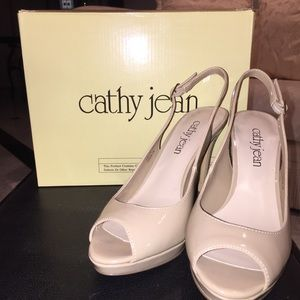 New Cathy Jean Nude Pumps