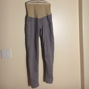 Gray Maternity Jeans