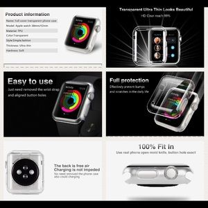 Accessories - Apple Watch clear cover
