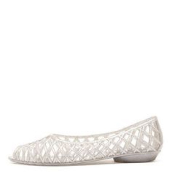 1caef80c1aea American Apparel Shoes - Clear Jelly Shoes