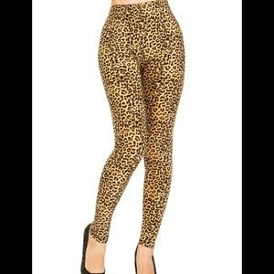 Pants - Brand new leopard print leggings.
