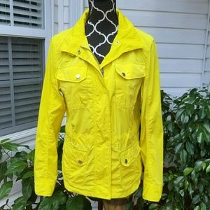 L-RL  Activewear Rain Jacket Short Trench Coat