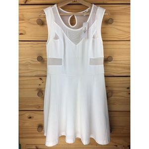 Sans Souci White Skater Dress