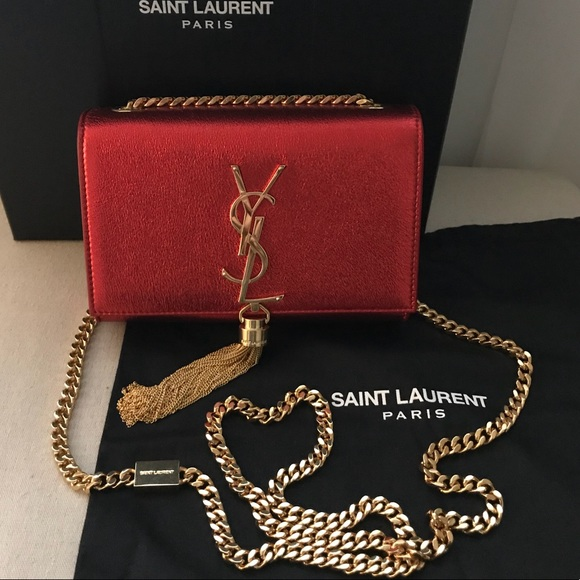 43d889654f3 Saint Laurent Bags   Authentic Kate Monogram Tassel Bag   Poshmark