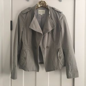 Banana Republic Gray Double Breasted Jacket 4