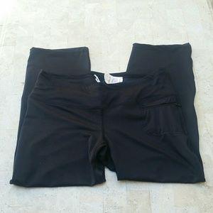 NEW Black Capri Leggings Neiman Marcus