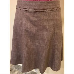 The Limited Collection Brown Flair Skirt Size 6