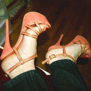 Shoedazzle - Fun heeled sandal! Size 7