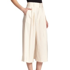 Alice + Olivia Ken Pleated gaucho Pants