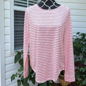 LOFT long sleeve pullover. Soft stretchy