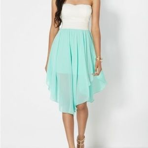 🎉SALE Strapless midi dress from Rue 21